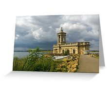 Sunken Church on the Water Greeting Card
