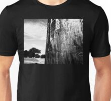 trees in distance  Unisex T-Shirt