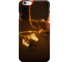 Puppy on a Neckleash iPhone Case/Skin