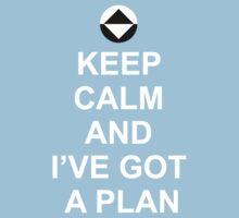 Keep Calm and I've got a plan [Dot] Kids Clothes