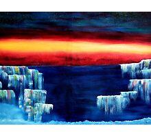 Frozen waterfalls 3 Photographic Print