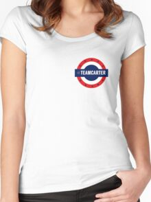 Small #TeamCarter Women's Fitted Scoop T-Shirt