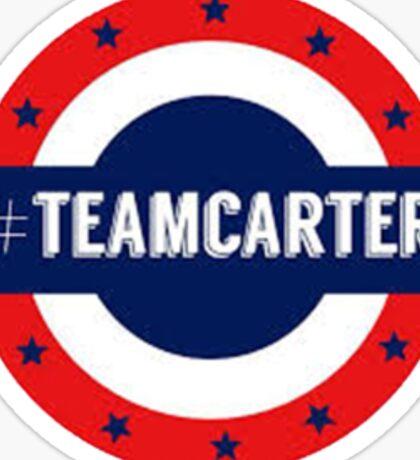 Small #TeamCarter Sticker