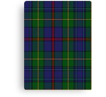 00017 The House of Bailey Clan Tartan  Canvas Print