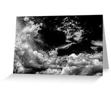 Clouds No.11 Greeting Card