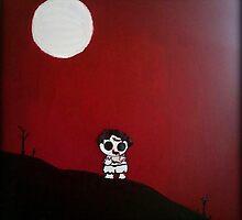 Zombie Moon by pixiechar