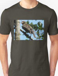 Female red-winged blackbird Unisex T-Shirt