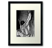 dormant figure Framed Print
