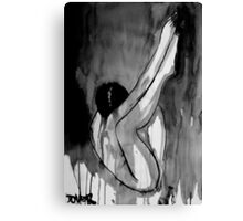 dormant figure Canvas Print