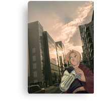 Ed in Tokyo Canvas Print