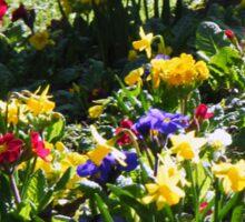 Bright spring flowers Sticker