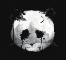 Sad Nature Panda by pARTick