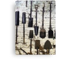 spade or shovel? Canvas Print