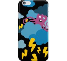 Who Makes the Thunder? - Night  iPhone Case/Skin