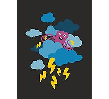 Who Makes the Thunder? - Night  Photographic Print
