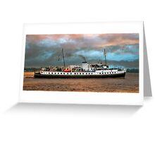 MV Balmoral Greeting Card