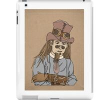 Steampunk Man with Awesome Hat iPad Case/Skin
