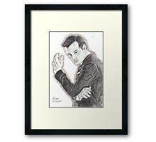 Moriarty portrayed by Andrew Scott in Sherlock Framed Print