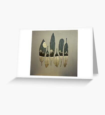 The Birds of Winter Greeting Card