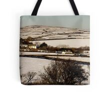 Christmas Eve Snow Scene One Tote Bag