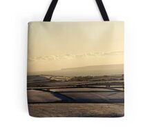 Christmas Eve Snow Scene Two Tote Bag