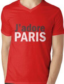 J'adore Paris Mens V-Neck T-Shirt