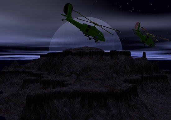 Point Viper Night Flight by Sazzart