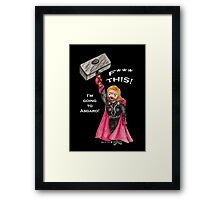 F*** This! (Thor) Framed Print