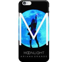 Ariana Grande Moonlight Special Feature Black T-Shirt iPhone Case/Skin