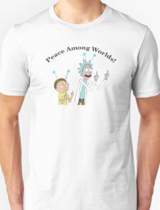 Rick and Morty-- Peace Among Worlds Unisex T-Shirt