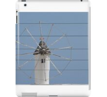 Wind and wire. iPad Case/Skin