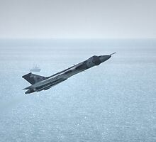 Vulcan over the Sea by Nigel Bangert