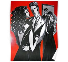 Lady in Red is Dancing with Me Poster
