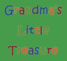 Grandma's Little Treasure  Kids Tee