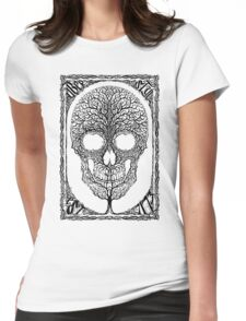 Anthropomorph I Womens Fitted T-Shirt