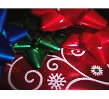 Christmas gifts Photographic Print