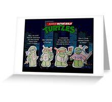 Adult Mutant Ninja Turtles Greeting Card