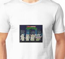 Adult Mutant Ninja Turtles Unisex T-Shirt