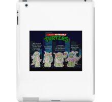 Adult Mutant Ninja Turtles iPad Case/Skin