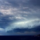 Storm Front Over Peninsula by Raoul Isidro