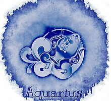 Zodiac: Aquarius by Buckwhite