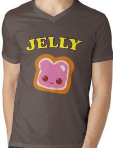 Couple - (Peanut Butter &) Jelly Mens V-Neck T-Shirt