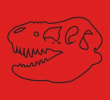 T-Rex Rules One Piece - Short Sleeve