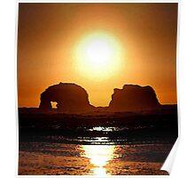 BLAZING SUN Poster