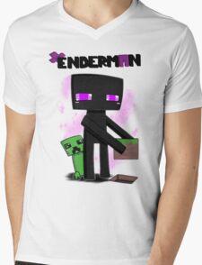 enderman and creeper mincraft T-Shirt