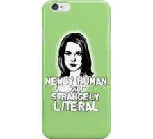 ANYA JENKINS: newly human, strangely literal iPhone Case/Skin