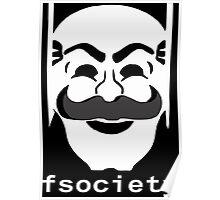 FSociety (Mr.Robot) Poster