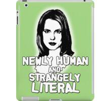 ANYA JENKINS: newly human, strangely literal iPad Case/Skin