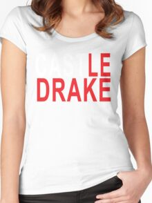 1.1 CASTLE DRAKE Women's Fitted Scoop T-Shirt