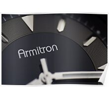 Armitron Watch Poster